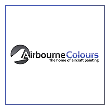 Airbourne Colours Logo for the time-lapse video project by Airline Time-lapses