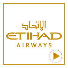 Etihad Airline Logo for the time-lapse video project