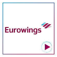 Eurowings Airline Logo for the time-lapse video project by Airline Time-lapses