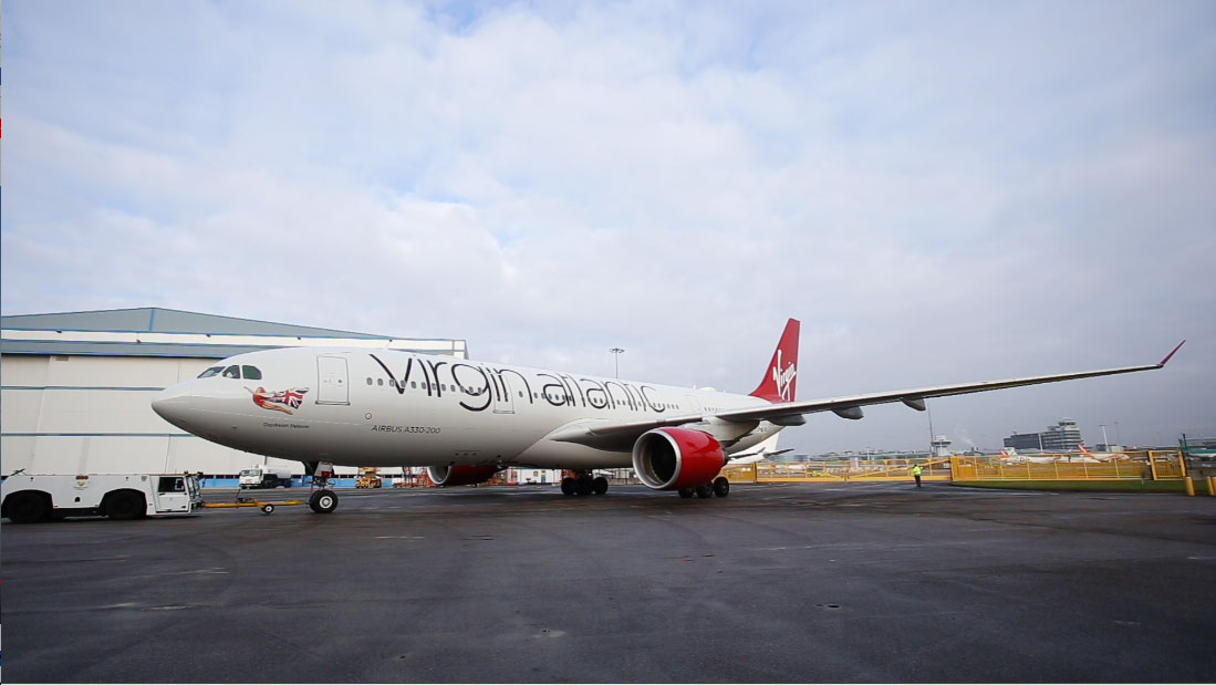 "Virgin Atlantic ""Daydream Believer"" Time-lapse Video Project"