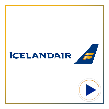 Icelandair Airline Logo for the time-lapse video project by Airline Time-lapses